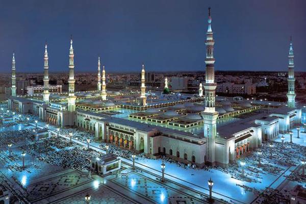 Masjid Al Nabawi Medina Saudi Arabia