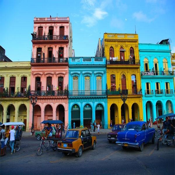 Colorful Havana, Cuba