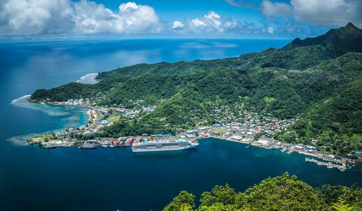 Pago Pago - the capital of American Samoa